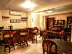Downstairs Wet Bar, Cards, Pool Table, 60' LCD with Surround Sound