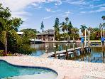 Starfish Dreams: 2BR Canal Home w/Dock and Pool