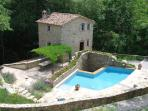 Water Mill and Millers House Rental in Cortona