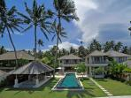 Cempaka Beach Villa - 4 Bedroom in Candidasa,Bali