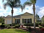 Stunning home overlooking lake, gated community