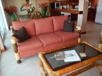 New sofa and table