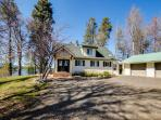 Loomis Lakefront Hunting Lodge with Dock