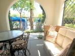 Exquisite 2BR Ground-Floor Condo by Main Pool