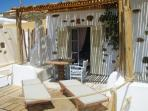 Studios For 2 Guests  With Sea View At Kalo Livadi Beach