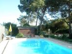 Holiday cottage and private pool 10x4 m by Lisbon
