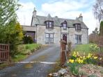 GRANITE COTTAGE, pet-friendly, fantastic views, first floor apartment in Nethy Bridge, Ref. 25214