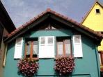 Holiday rental :  the Blue House in Alsace