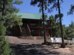 2600 sq ft cabin in the white mountains near national forest