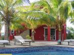 Luxury rental apartment on small gated resort.