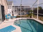 SouthWest Facing Heated Pool