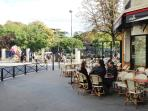 ...and a new 'brasserie' (open 7/7), next to your Parc Montsouris entrance (100m)