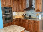All stainless, convection oven, walk-in pantry
