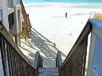 Beach access -requires being able to climb stairs