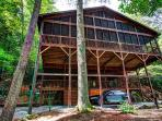 Riverwatch Retreat riverfront luxury on the Toccoa River