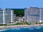 Oceanview 2BR Sea Watch 708! Pools/lazy river/more