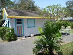 Private, quiet beachfront cabin near Coffs Harbour