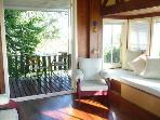 Living Room and Lower Deck