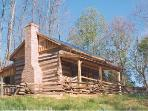 Highlands Cabin....A Step Back to Early America