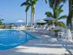 Villa Overlook with views of the Caribbean sea and access to a gym and tennis