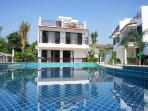 4 BR bungalow with big top terrace for rent Rayong