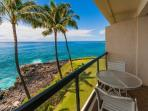 PS302A, Oceanfront condo with spectacular ocean views, ocean front heated pool, bbq and free rental car