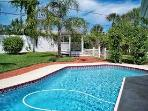 Private Home & Pool, Half a Block to Quiet Beach