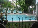 Elegant condo in a quiet building, beautiful pool