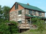 Refurbished 1800's log cabin in a country setting