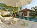 Dream 3 Br villa Drupadi 600m beach