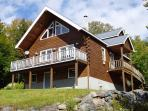 Log Home Rental, Rangeley Maine
