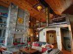Luxury, Panoramic View Lodge in North Tahoe