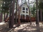 3 bedroom/ 2 bath South Tahoe quiet forest setting