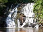 1950's Cabin On Cane Creek Above The Falls-2br/1ba