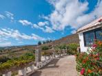 Holiday Home with panorama view above the  island - max 5 people - ES-1071222-Teror, El Palmar