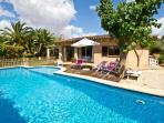 Holiday house with pool and covered terrace  near Manacor   - ES-1074730-Manacor