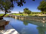 Beautiful accommodation in wine estate Stunning Stone Pool - Cottages for 9 - FR-773-Salleles Cabardes