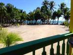 Tranquil Caribbean Island Beachfront Cottage 2