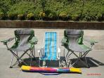 Beach Chairs for guests