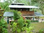 Jungle home in the reserve of Corcovado N. Park