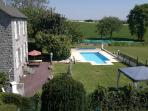 Detached 4bd Farmhouse, Private Pool, Garden, WIFI