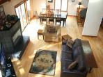 Updated Sunriver Home with Gas Fireplace and Pet Friendly Near River Access