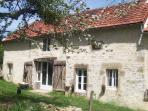 Romantic original French country-cottage