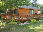 Log Cabin with LakeView frontage