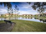 Gated Luxury Compass Bay Condo with Lake View, $699 a week
