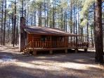 Exclusive Log Sided Cabin in White Mountain Summer