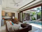 Private one-bedroom villa with pool, private oasis