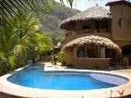 CASA FIREFLY Beach bungalows, yoga deck & lap pool