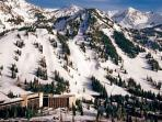 2 Bedroom with Living Room at Snowbird`s Cliff Club