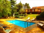 Fabulous country villa in Airesol D for 10-12 guests, surrounded by rolling hills and mountain views